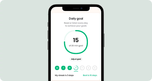 Daily Plans and Progression